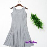 Cheapest Cotton With No Rims Can Be Outside Wear Cup Dress Lingerie Gray Gray