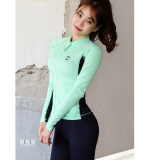 Female Three Sets Of Conservative Cover The Belly Slimming Effect Split Long Sleeved Sunscreen Korea Swimsuit B*k*n* Bubble Hot Spring Diving Promo Code