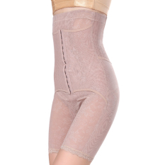 Cheaper Feng Ting Poetry After Off Postpartum Abdomen Closed Stomach Waist Hip Slimming Underwear High Waist Breasted Bottoming Pants Female Thin Mesh After Will Off Three Row 13 Buckle Boxer Models Classic Color