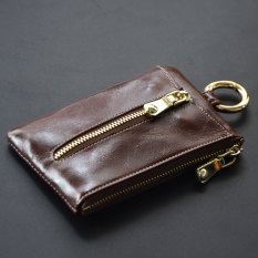 Buy Cute Soft Leather Women S Mini Key Buckle Card Holder Park S Color Other Online