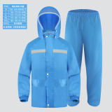Price Fishing Outdoor Motorcycle Electric Bike *d*lt Raincoat Rain Pants Single Layer Lightweight Type Sky Blue Color Single Layer Lightweight Type Sky Blue Color Oem China
