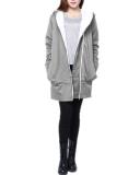 Sale Five Star Store Zanzea Women Long Slim Hoodie Jacket Coat Zip Sweatshirt Outwear Top Size Grey Intl