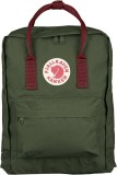 Fjallraven Kanken Classic Backpack 660 326 Forest Green Ox Red Best Price