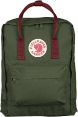 Fjallraven Kanken Classic Backpack 660 326 Forest Green Ox Red Discount Code