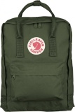Fjallraven Kanken Classic Backpack 660 Forest Green For Sale