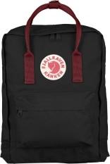 Price Comparisons Fjallraven Kanken Classic Backpack Black Ox Red