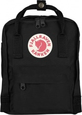 Fjallraven Kanken Mini Backpack Black Deal