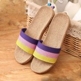 Flax Slippers Home Couple Indoor Summer Slippers 2 Intl For Sale Online
