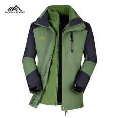 Sale Fleece Men And Women Ski Clothes Jacket Clothing 51855 Grass Green Men Oem