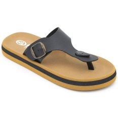 Buy Flips Pods Sandals T Strap Charcoal Contoured Footbed Rubber Sandals Online