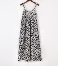 Deals For Women S Bohemian Style Floral Pattern Cotton Slip Dress 28 No Color 28 No Color