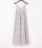Sale Women S Bohemian Style Floral Pattern Cotton Slip Dress 3 No Color 3 No Color On China