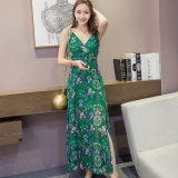 Who Sells The Cheapest Floral Print Fresh Chiffon New Female Dress Online