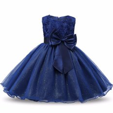 Price Comparison For Flower G*rl Dress Children Kids Beautiful Wedding Party Dresses Girls Formal Ceremonies Party Pageant Princess Dress Intl