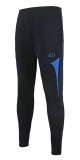 Review Sports Casual Track And Field Close Jogging Pants Soccer Training Pants Black With Blue Color Black With Blue Color Oem