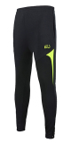 Sports Casual Track And Field Close Jogging Pants Soccer Training Pants Black With Fluorescent Green Black With Fluorescent Green Sale