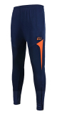 How To Buy Sports Casual Track And Field Close Jogging Pants Soccer Training Pants Dark Blue With Orange Dark Blue With Orange