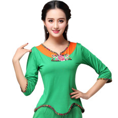 e49fe614a Fuwu Square Dance 2019 New Style Square Dance Clothing Tops MIMZF Skirt  Beautiful Delux Dance Costume