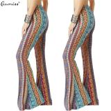 Buy Gamiss New Fashion Retro Printed Women Trousers Casual Loose Loudspeaker Pants Intl Gamiss