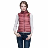 Top 10 Gamiss Winter Thin Duck Down Jacket Series Women Short Coat Parkas Thickening Stand Collar Female Warm With Pocket Outwear Intl
