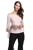 Best Buy Gamiss Women S Ladies Summer Long Sleeve Shirt Loose Casual Blouse Tops T Shirt Intl