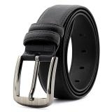 Genuine Cowhide Leather Belt With Zinc Alloy Buckle For Men 125Cm Intl Best Buy