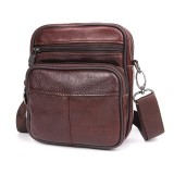 Brand New Genuine Leather Versatile Casual Shoulder Men Messenger Bags For Men Leather Handbags Intl