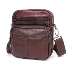 Genuine Leather Versatile Casual Shoulder Men Messenger Bags For Men Leather Handbags Intl Lower Price