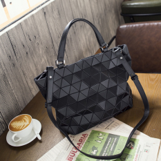 For Sale Women S Lozenge Pattern Shoulder Bag Loftex Black Loftex Black