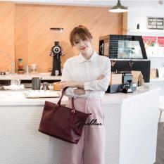 Geraldine Miko Shoulder Bag Red Wine Lowest Price