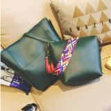 Best Rated Geraldine Tribal Strap Shoulder Bag Green