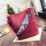 Top 10 Geraldine Tribal Strap Shoulder Bag Red Wine