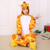 Getek Giraffe *D*Lt Unisex Pajamas Cosplay Costume Onesie Sleepwear S Xl Yellow Best Price