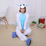 Best Reviews Of Getek Unicorn *D*Lt Unisex Pajamas Cosplay Costume Onesie Sleepwear S Xl Blue