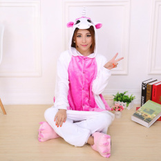 Cheap Getek Unicorn *D*Lt Unisex Pajamas Cosplay Costume Onesie Sleepwear S Xl Pink