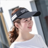 Best Offer Girlhood Sports Tennis Cap Sun Hat Sun Visor Baseball Cap Black Intl