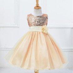 Shop For Girls Dress Sequined Dress Veil Princess Dress Performance Dress Intl