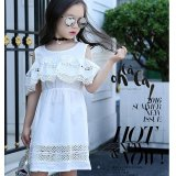 Buy Girls Dresses Summer Lace Kids Clothes Little Teenage Girls Clothing White Pink Yellow Girls Dress Clothes Intl On China