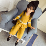 How To Buy Korean Style Knit Girls New Style Wide Leg Pants