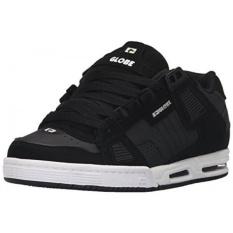 Globe Mens Sabre Walking Shoe, Black/Carbon/White, US - intl