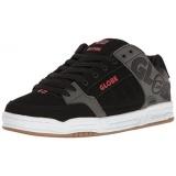 Discount Globe Mens Tilt Skateboarding Shoe Black Charcoal Red Us Intl Globe South Korea