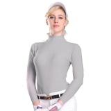 Buying Golf Sunscreen Uv Womens Ice Tshirts Summer Outdoor Sport Clothing Primer Shirt Underwear Long Sleeve Clothes Golf Apparel Grey Intl