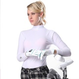 Cheaper Golf Sunscreen Uv Womens Ice Tshirts Summer Outdoor Sport Clothing Primer Shirt Underwear Long Sleeve Clothes Golf Apparel White Intl
