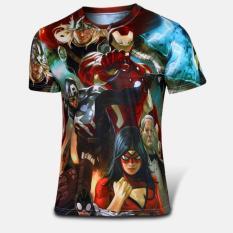 Discount Good Quality Big Size Xs 4Xl Avengers Short Sleeve O Neck Women Men Unisex Hero T Shirt Intl Oem
