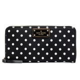 Best Rated Gpl Kate Spade Blake Avenue Neda Polyester Zip Around Wallet Ship From Usa Intl