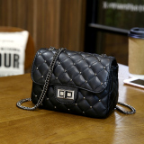 Best Reviews Of Square Sling Bag Spring Shoulder Bag Quilted Shoulder Bag Women S Bag Black