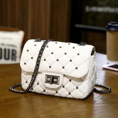 Sale Square Sling Bag Spring Shoulder Bag Quilted Shoulder Bag Women S Bag White Other Cheap