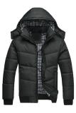 Lowest Price Gracefulvara Fashion Men S Hooded Coat Parka Winter Warm Outwear Down Jacket Black