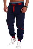 Price Gracefulvara Men S Jogger Dance Baggy Harem Pants Casual Slacks Trousers Sweatpants Navy Blue Gracefulvara Original