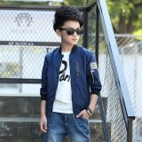 Purchase Grandwish Kids Bomber Jackets Patches Design Coat Slim 6T 16T Dark Blue Intl Online